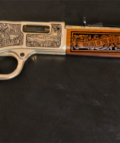Kentucky Legacy Rifle on black background