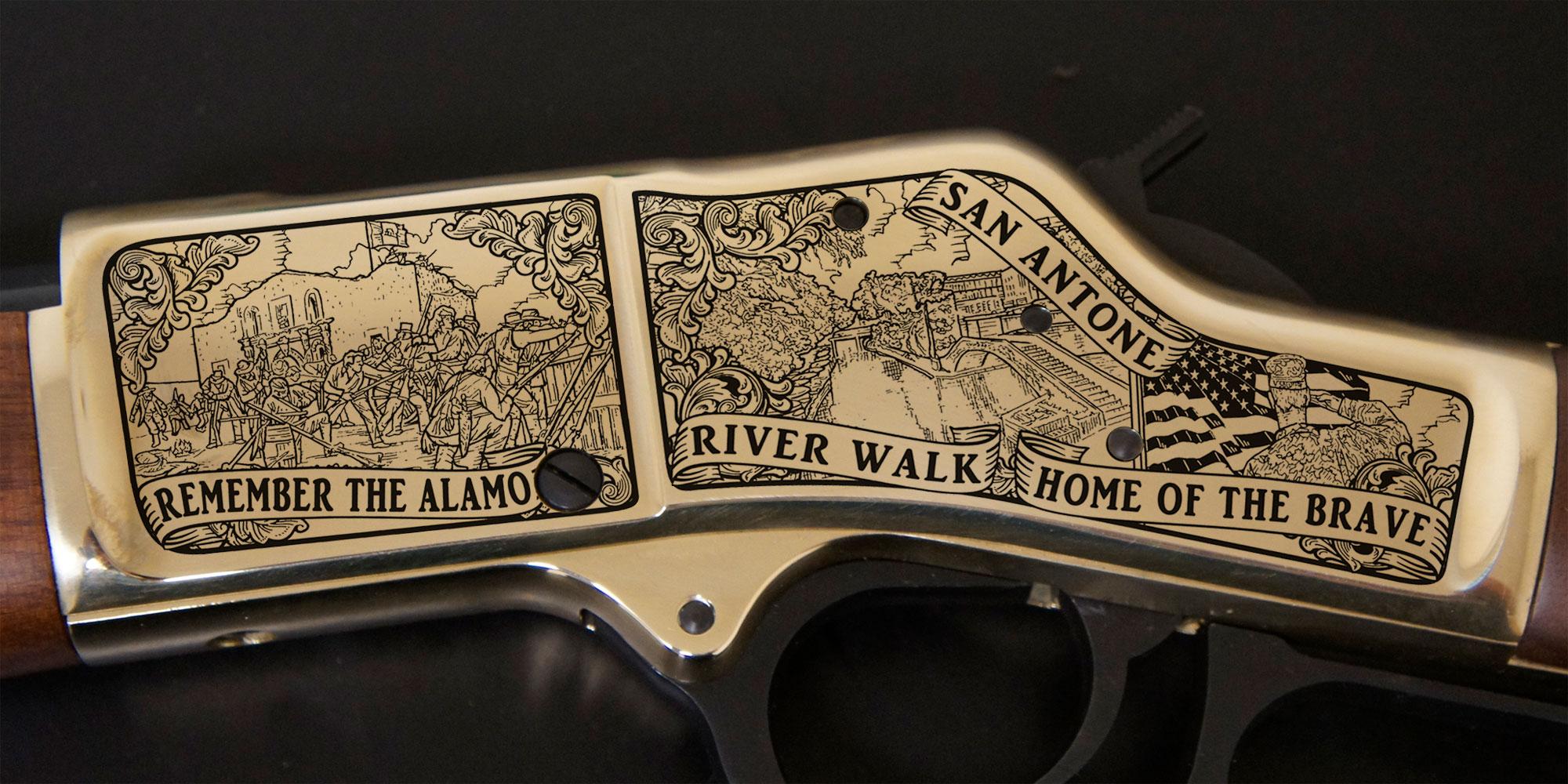 San Antonio, TX Tricentennial Rifle