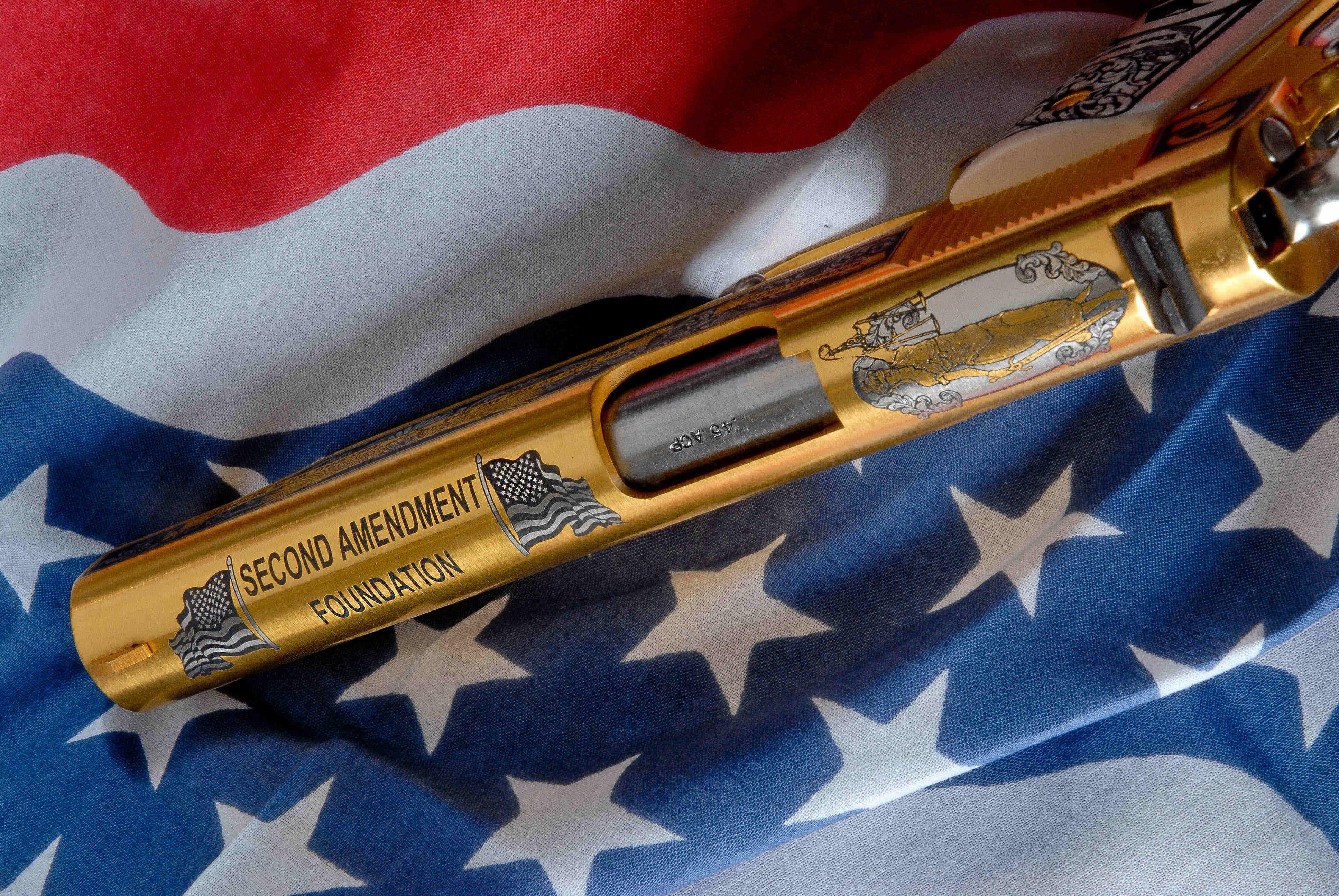 Second Amendment Foundation Pistol Alaska American Legacy