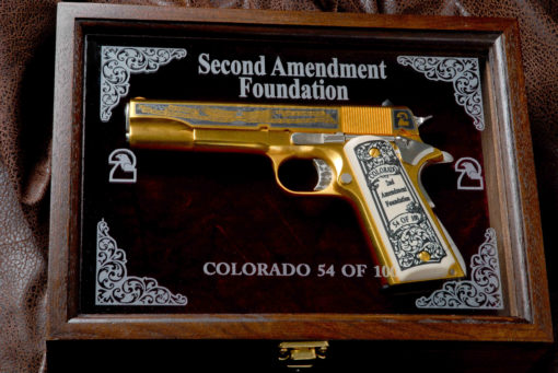Second Amendment Foundation Pistol - Texas